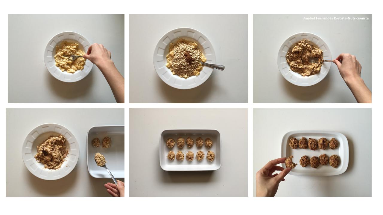 receta para hacer galletas de avena para diabeticos
